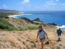 trish hiking koko crater