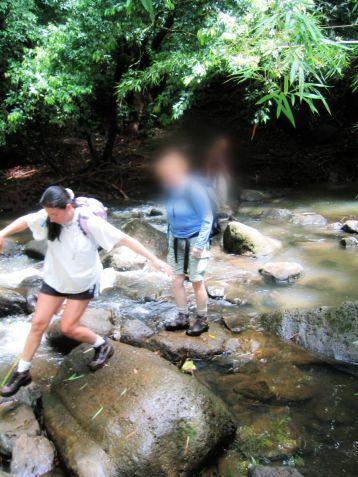 trish hiking nuuanu judd trail