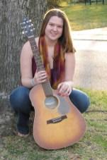 Diana and guitar