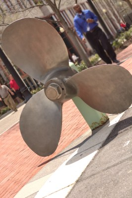 Propellor on the Transportation Walk