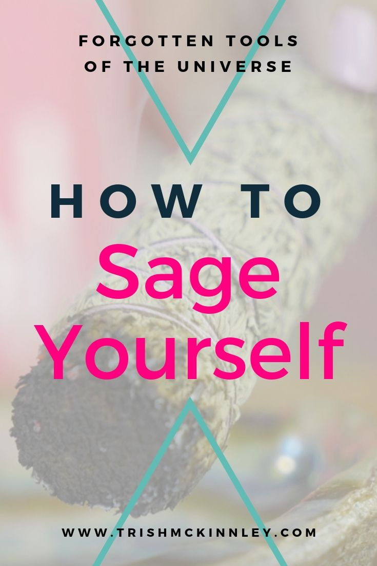 sage cleansing yourself