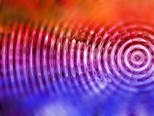 Colorful vibrations