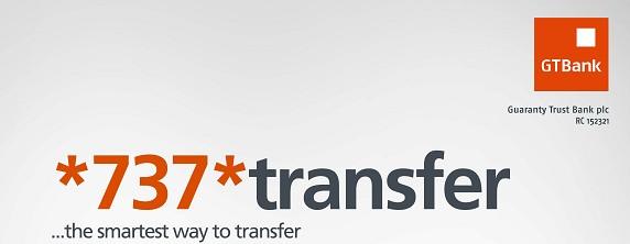 GT Bank Transfer Code - USSD