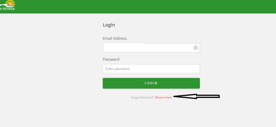 How to Reset Npower Password