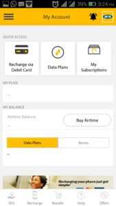 MyMTN App data plan and more