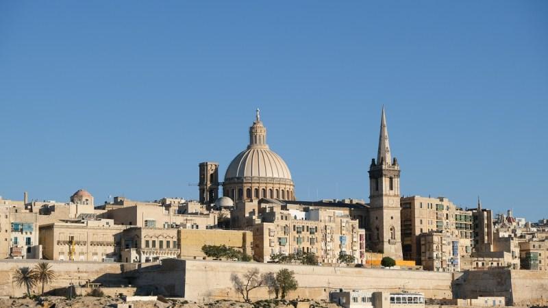 La Valette, la capitale de Malte