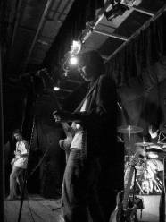 The band returned to play a fundraiser at their old school Castle Rushen High School 18 April 2005!