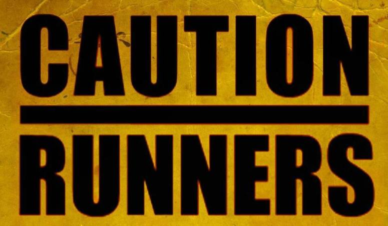 caution run logo
