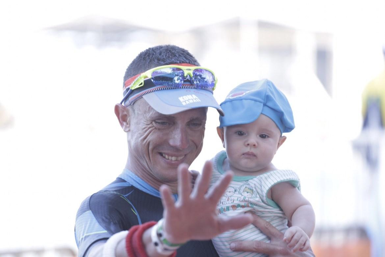 Francisco Sartore, campeão  do Ironman Fortaleza 2015. Foto: Rodrigo Eichler