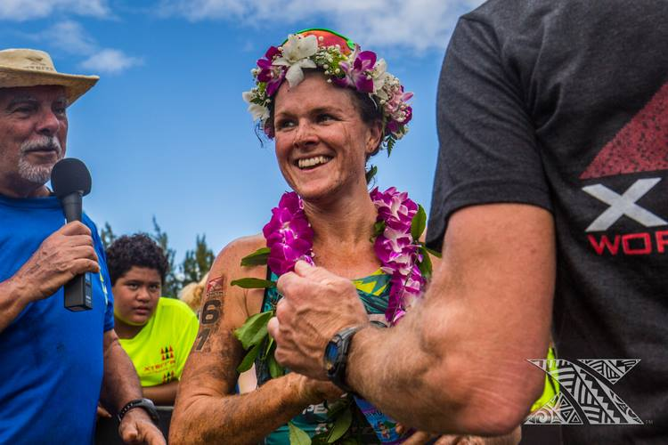 Flora Duff, tricampeã mundial do Xterra