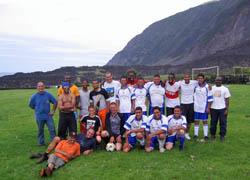 Foto della nazionale di Tristan da Cunha