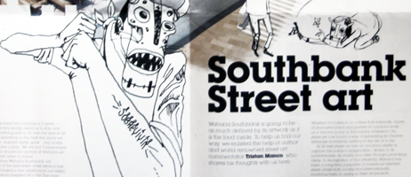 Wahaca Southbank Experiment, Saner