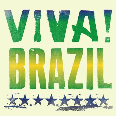 Viva Brazil logo design