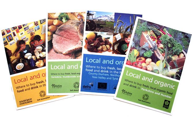 Soil Association Graphic Design