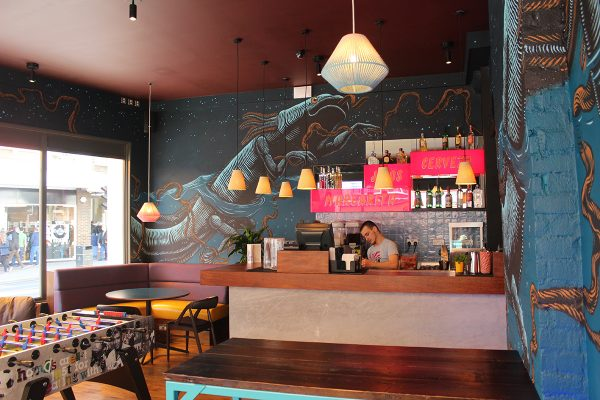 Wahaca Brighton - artwork by Mazatl