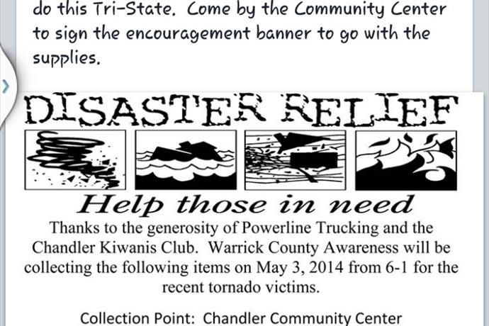 Warrick County Awareness Disaster Relief_1957909056960809695