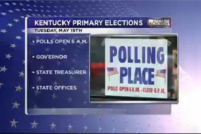 Kentucky Voters head to the polls for primary elections._-665001897529030073