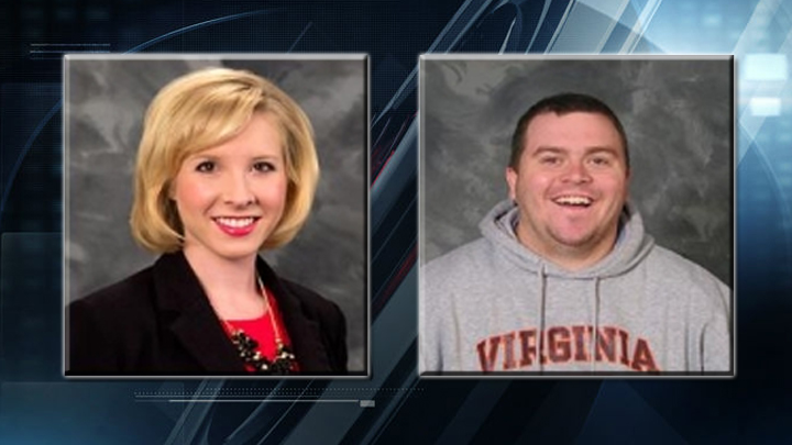Alison Parker and Adam Ward WDBJ