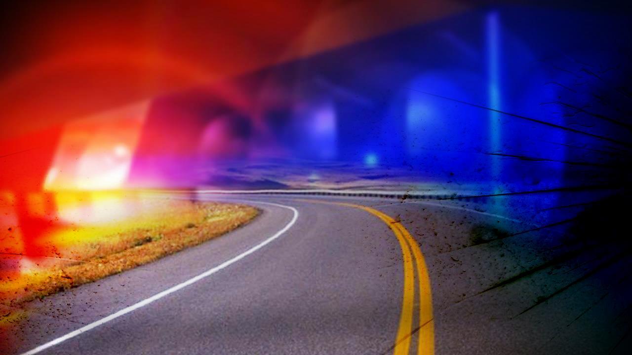 Road Police Lights Generic Crash