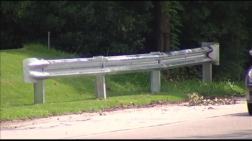 New Guardrail Installed on Newburgh Rd- in Evansville_28187399-159532