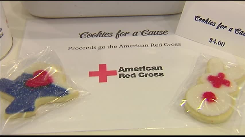 Sweet Betty's Bakery Cookies Benefit Red Cross