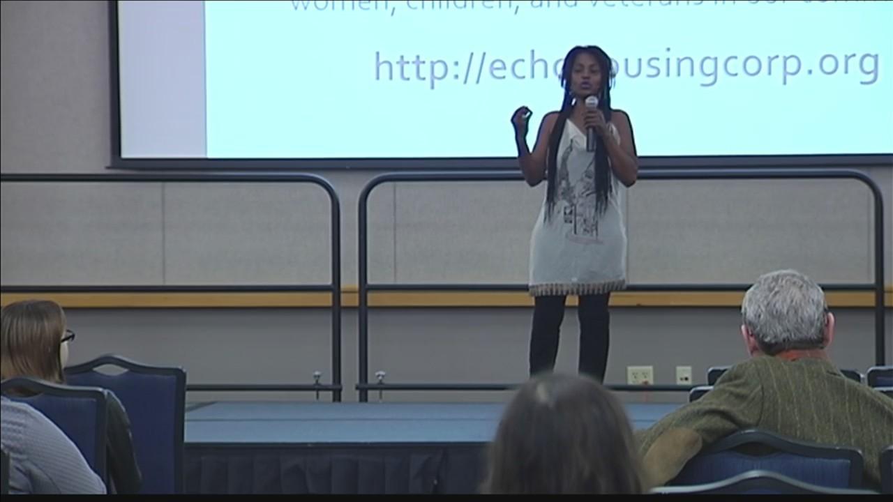 Speaker Talks Homelessness at USI