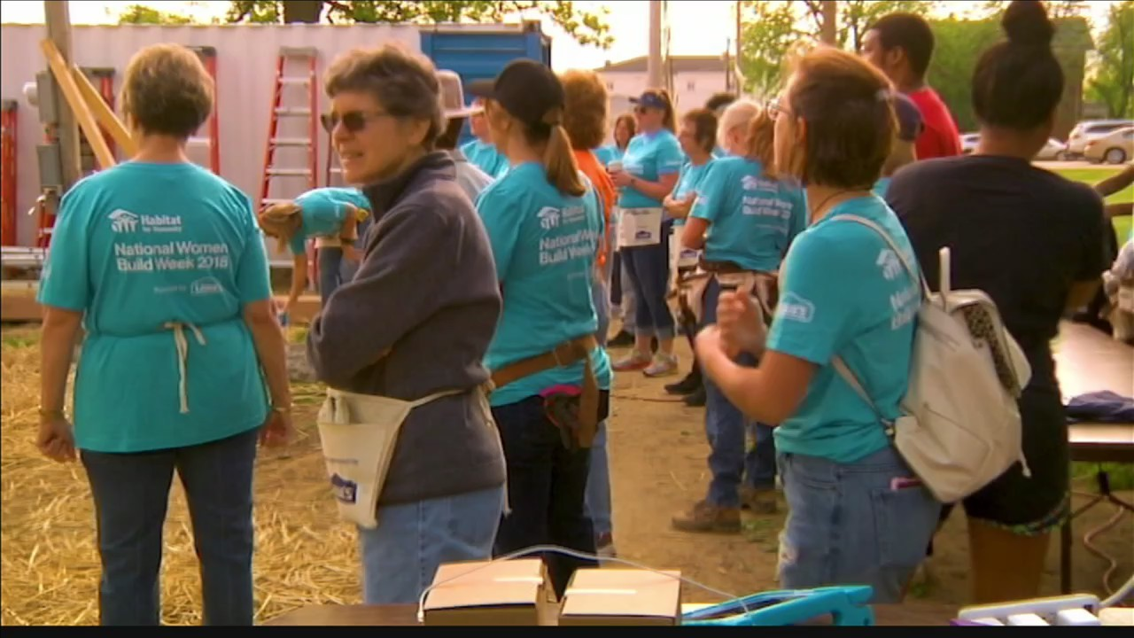 """The Habitat Story"" Women Build"