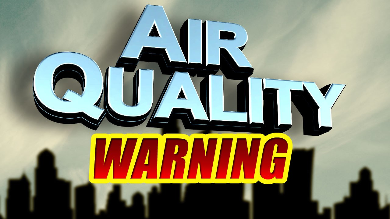 Air quality warning