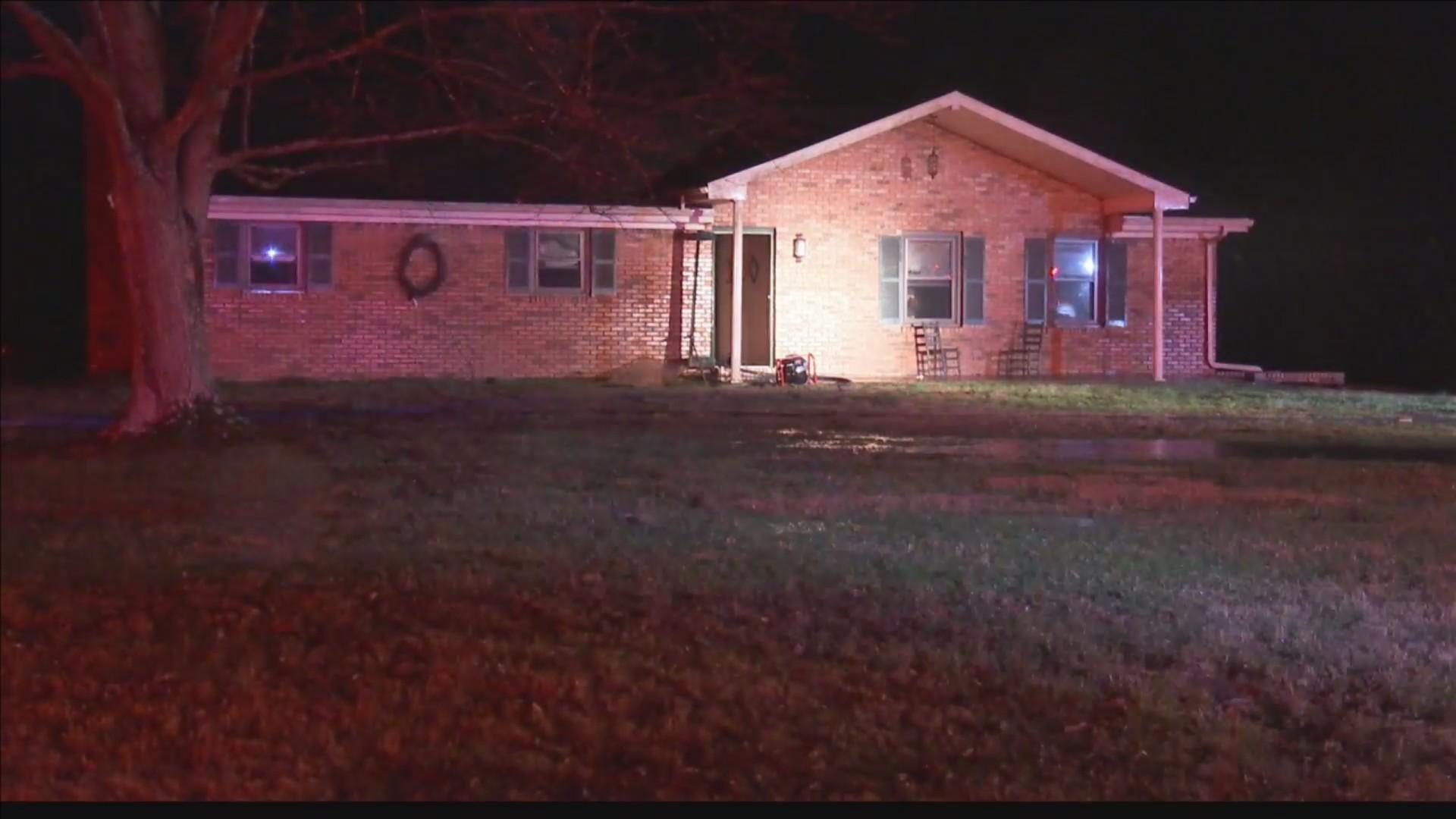Lightning responsible for Henderson Co. house fire