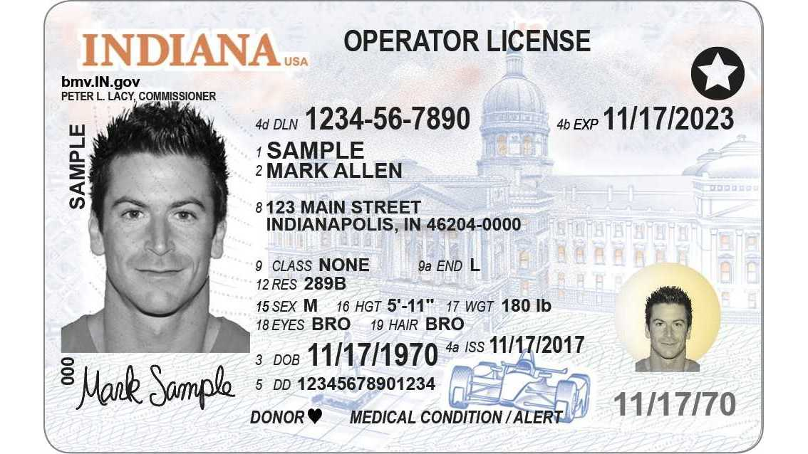 New driver's licenses boast security features