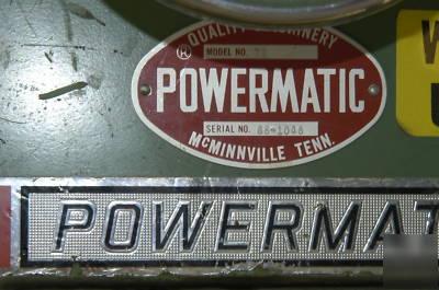 Powermatic Model 72 Table Saw