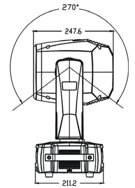 Triton Blue · Serie Platinum · Cabezas móviles Beam