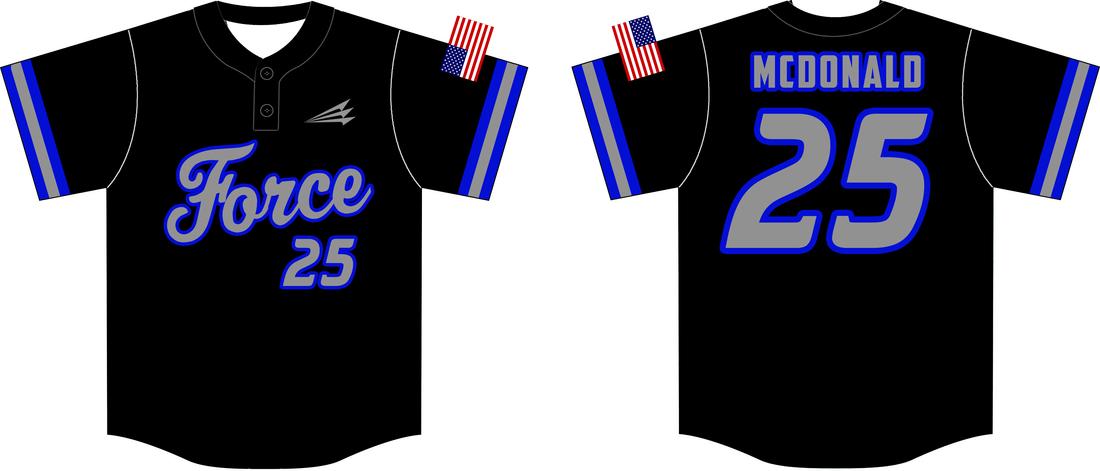 Download Force Custom Baseball Jerseys (McDonald) - Triton Mockup ...