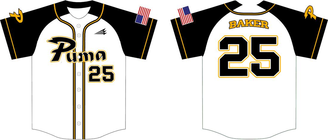 Download Puma Baseball Club Custom Modern Baseball Jerseys - Triton ...
