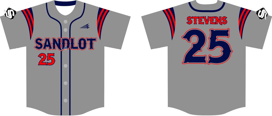 Download Sandlot Custom Baseball Jerseys (Stevens) - Triton Mockup ...