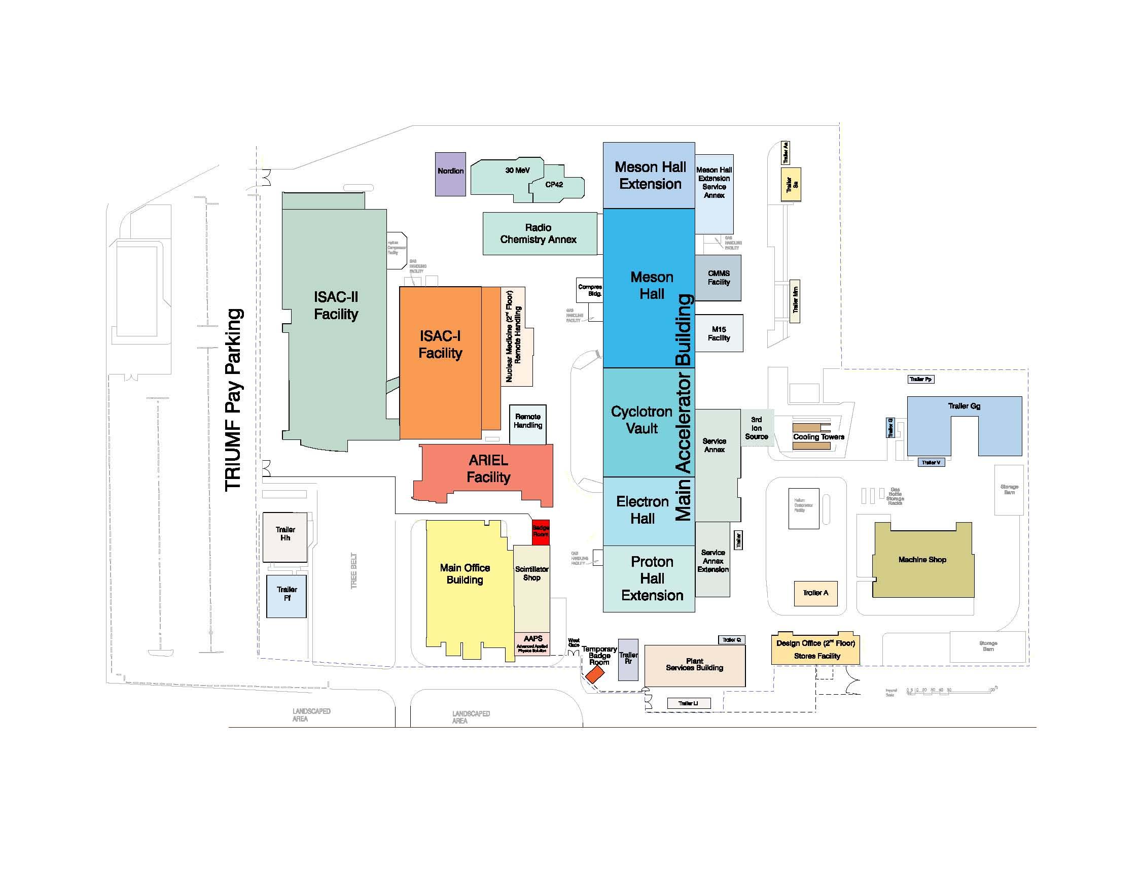 Building Maps Triumf Canada S Particle Accelerator Centre