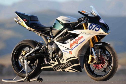 Daytona 675 officielle championnat 2008