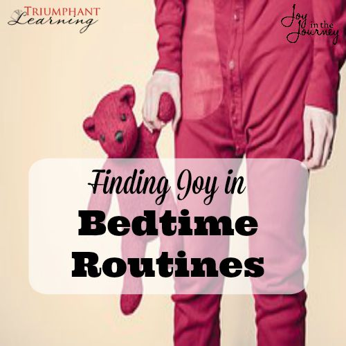 How I found joy in bedtime routines