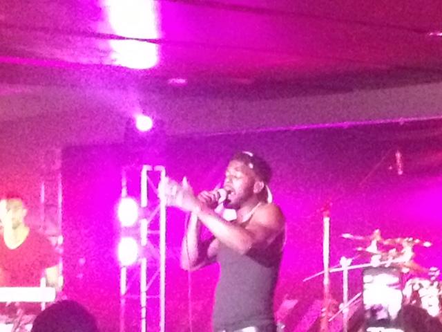 Luke james singing essence music fest superdome
