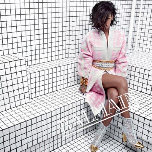 Rihanna Balmain ss 2014