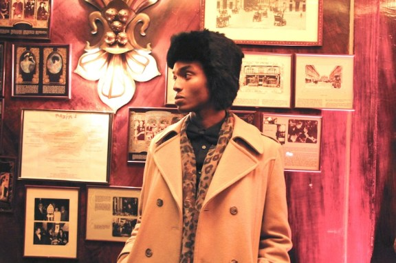 Maxims Paris, fur hats, rabbit fur, cheekbones, stylish black man, stylish black men