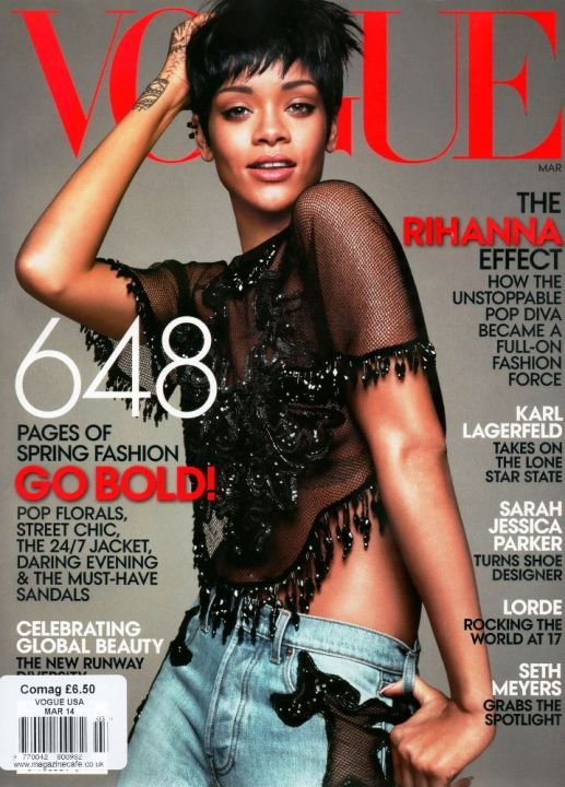 Rihanna for VOGUE Magazine (US Edition)