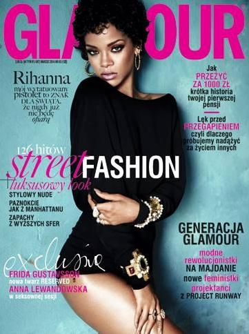 Rihanna for Glamour Magazine (Poland Edition)