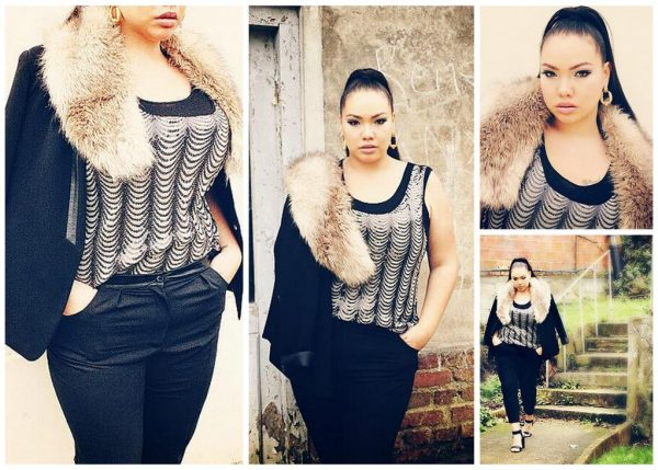 Beautiful Plus Size Model in France Lalaa Misaki