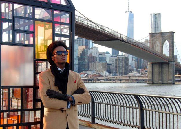Freedom tower brooklyn bridge