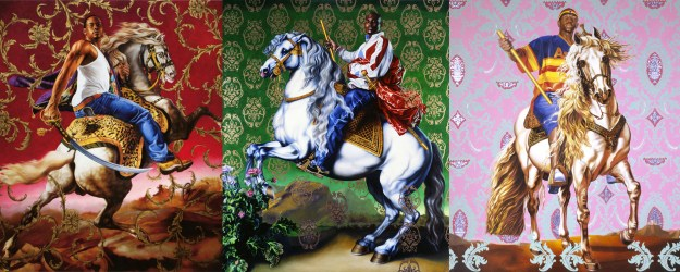 Kehinde Wiley artwork