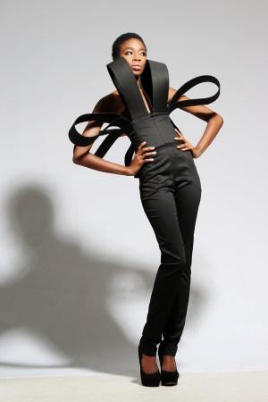 Black Fashion Model Trudi-Ann Thomas