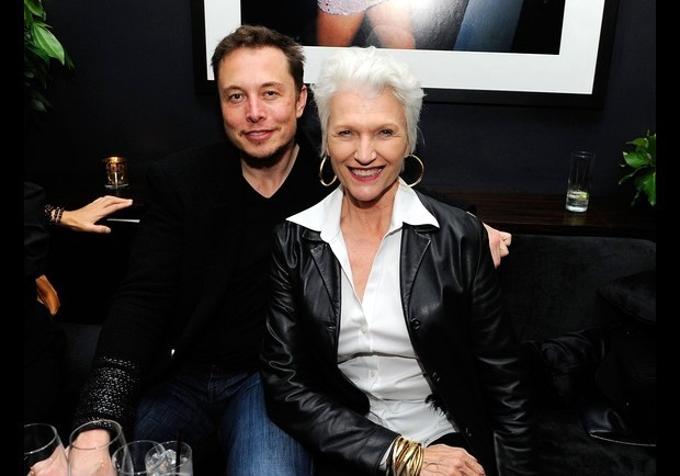 NEW YORK, NY - APRIL 21: Producer Elon Musk and Maye Musk attend the after party at Parlor for Baseball In The Time Of Cholera And Alekesam on April 21, 2012 in New York City. (Photo by Andrew H. Walker/WireImage)