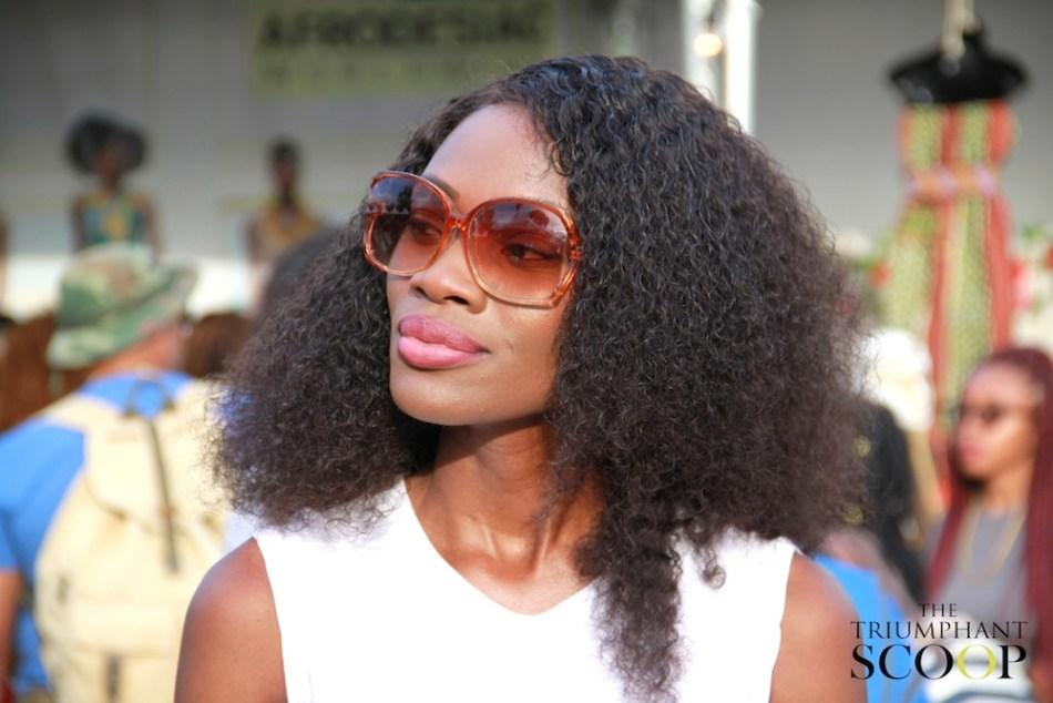 Afropunk Brooklyn Sissi Johnson