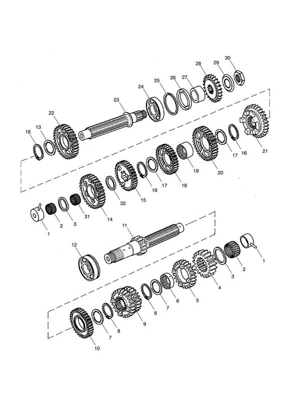 2014 Triumph Oil seal. Transmission, Eng, Engine